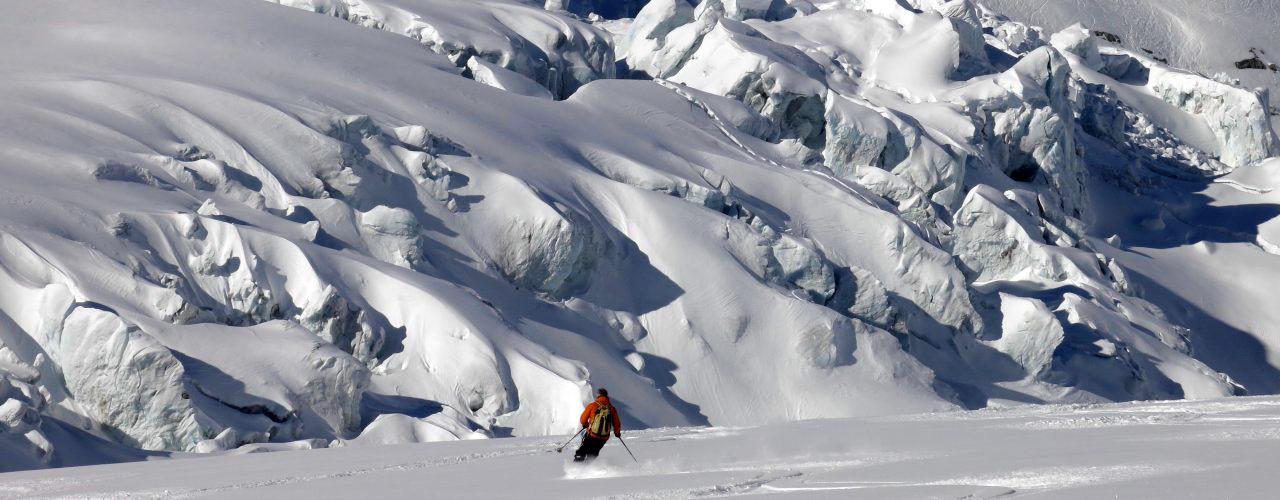 vallee blanche slide