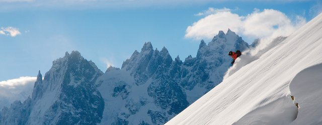 Ski around mont-blanc