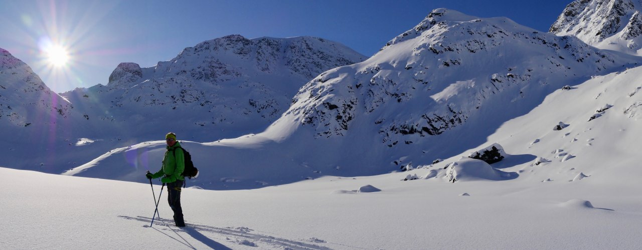 Special offer * Ski touring initiation.