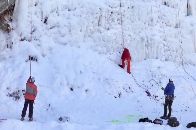 ice climbing (photo credit Marie-Laure)